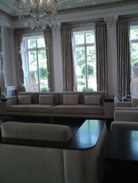 Roman blinds - Medway - Sonia K Curtains - Window curtains